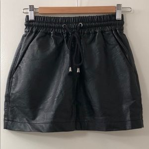 LF - Rumor Boutique - Faux Leather Skirt